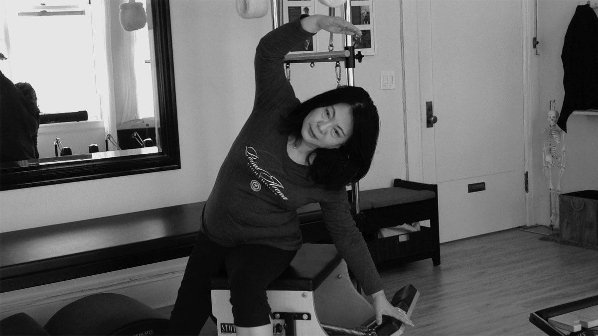 Amrita Pilates client_ki